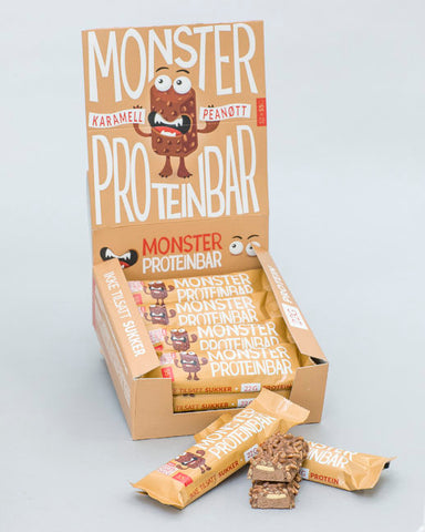 Monster Proteinbar 12x55g - FitStyle.no