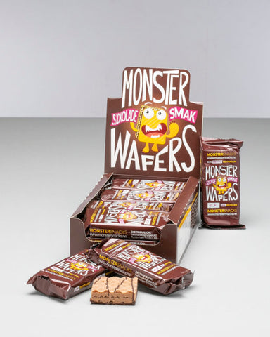 Monster Protein Chocolate Wafer 12x42g