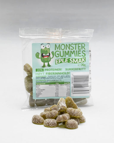 Monster Protein Gummies Apple 70g