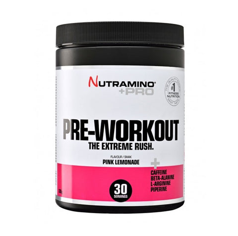 Nutramino +Pro Pre-workout Powder Pink Lemonade 330g