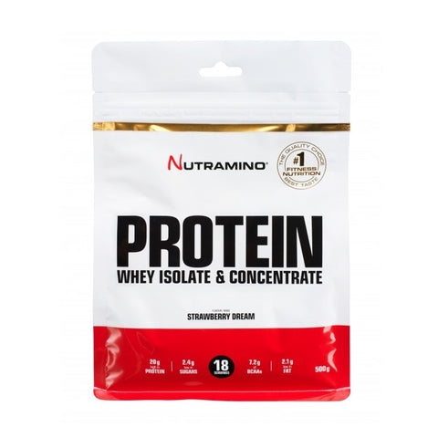 Nutramino Whey Protein – Strawberry Dream 500g