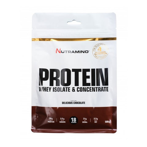 Nutramino Whey Protein – Delicious Chocolate 500g