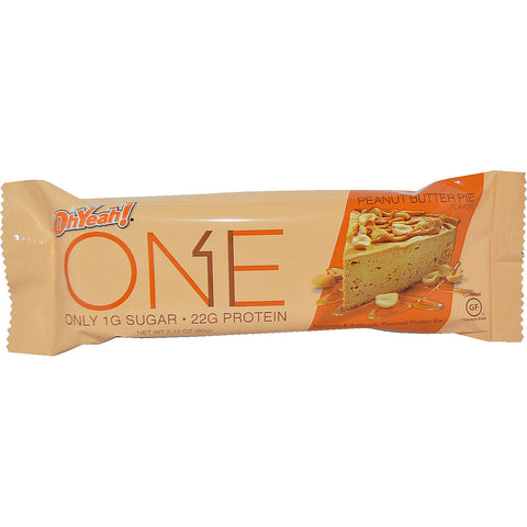 Oh Yeah ONE Bars Peanut Butter Pie 60g - FitStyle.no