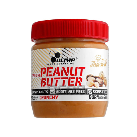 Olimp Peanut Butter Crunchy 350g - FitStyle.no