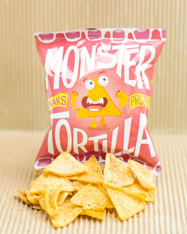 Monster Supersnacks Tortilla Chips Thai Sweet Chili 25g