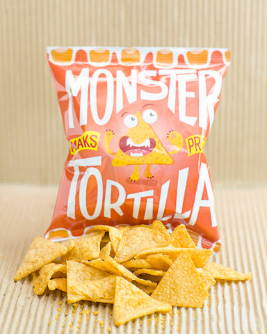 Monster Supersnacks Tortilla Mexican Fiesta Chips 25g
