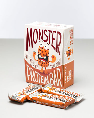 Monster Lean Proteinbar Cookie Dough 12x60g