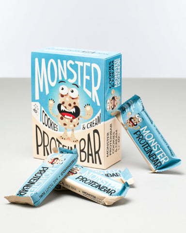 Monster Lean Proteinbar Cookies & Cream 12x60g