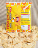 Monster Supersnacks Tortilla Cheddar Chips 25g - FitStyle.no