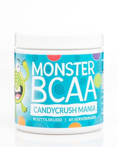 Monster BCAA Candy Series – Candycrush Mania 300g - FitStyle.no