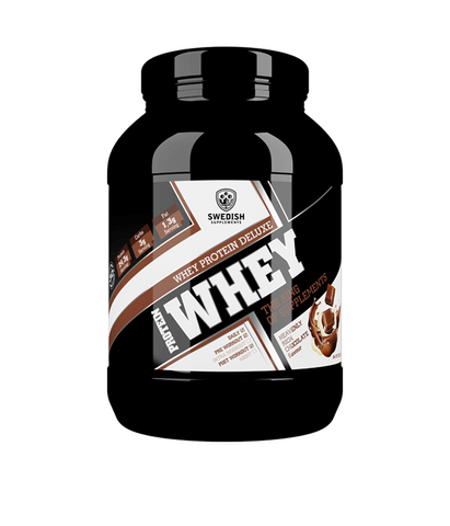 Whey Protein Deluxe - Heavenly Rich Chocolate - 1kg - FitStyle.no