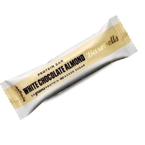 Barebells - White Chocolate Almond 55g - FitStyle.no