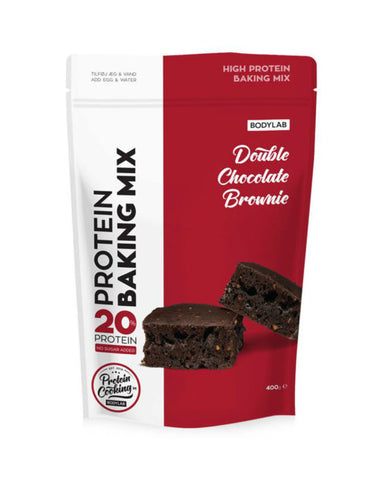 Bodylab Protein Baking Mix - Double Chocolate Brownie - FitStyle.no
