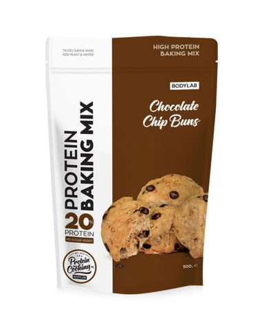 Bodylab Protein Baking Mix - Chocolate Chip Buns - FitStyle.no