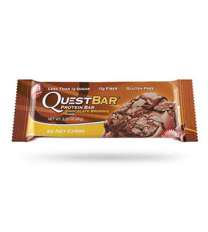 Quest Bar Chocolate Brownie 60g - FitStyle.no
