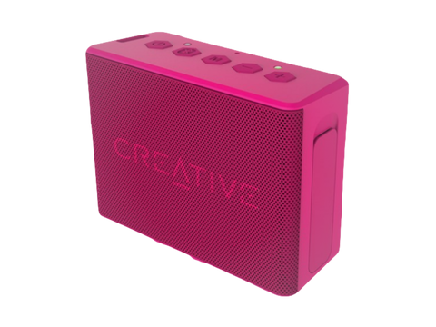 Creative MUVO 2C Bluetooth Høyttaler Rosa - FitStyle.no