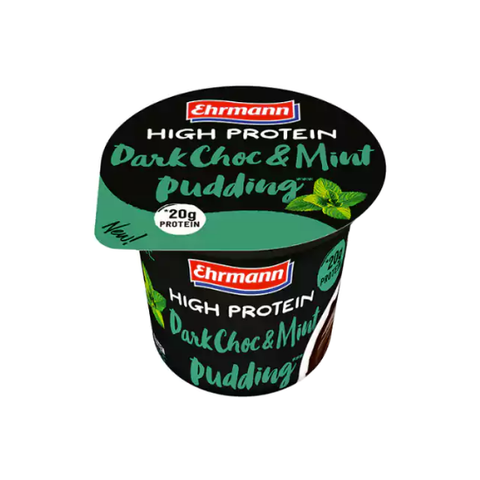 Ehrmann Proteinpudding Dark Chocolate Mint 200g