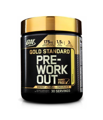 ON Gold Standard Pre-Workout 330g - FitStyle.no