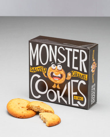 Monster Soft Protein Cookies Salted Caramel 6x30g