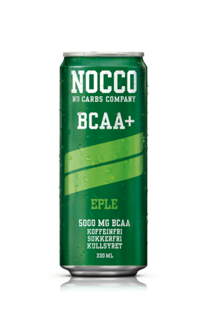 NOCCO BCAA+ Eple 330ml - FitStyle.no