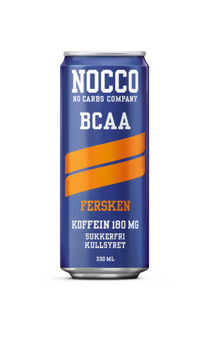 NOCCO BCAA Fersken 330ml - FitStyle.no