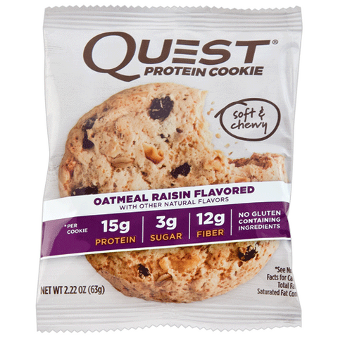 Quest Protein Cookies Oatmeal Raisin 58g