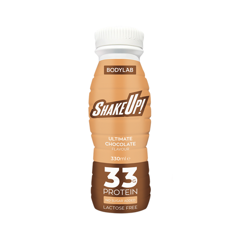 BodyLab ShakeUp! Protein Shake Ultimate Chocolate 330ml - FitStyle.no