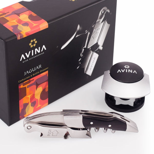 Jaguar - Waiters Friend Wine Corkscrew & Bottle Opener - Avina Wine Tools