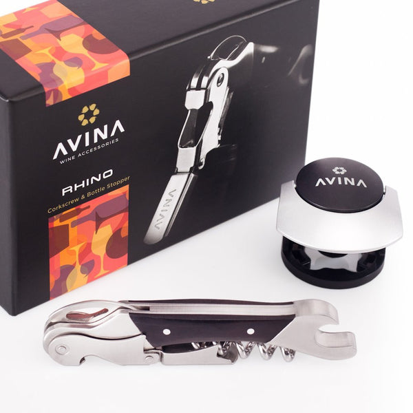 Rhino - Easy Wine Waiters Corkscrew & Bottle Opener - Avina Wine Tools