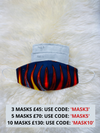 African Face Mask | Fabric Face Mask with Filter Pocket | JERICA