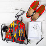 Women's Ankara Slip-on Sneakers and African Fashion Women Casual Set - ALEXA