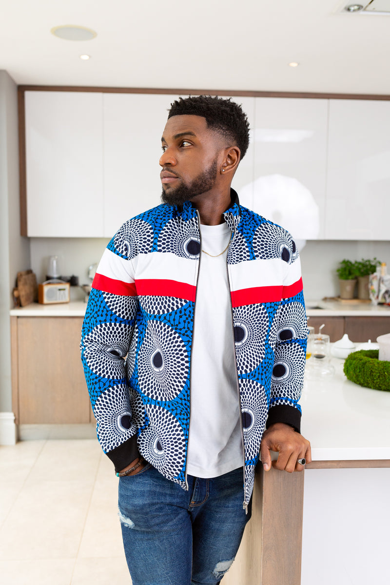 African Jackets For Men African Print Men S Biker Jacket L Aviye