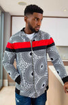 Smart African Print Jackets for Men L'AVIYE