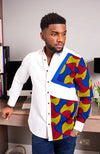 Ankara Mens Shirt Design L'AVIYE