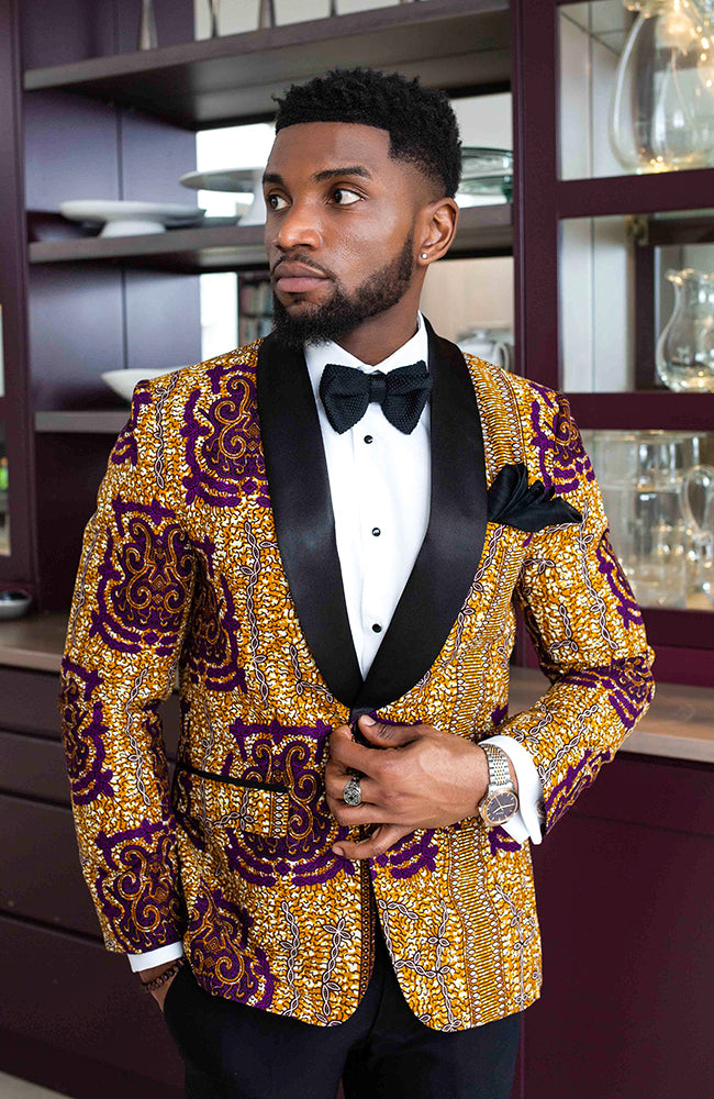 African Print Jackets For Men L'AVIYE