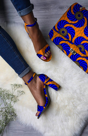 Laviye african print shoes