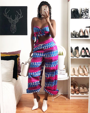african print tops