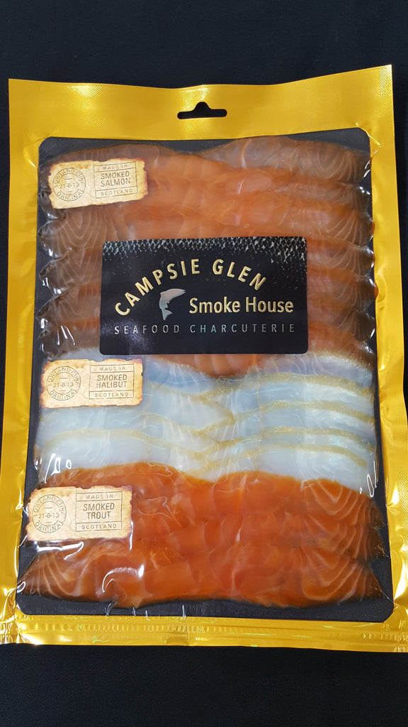 Lowland Cure Platter 400gm - Campsie Glen Smoke House