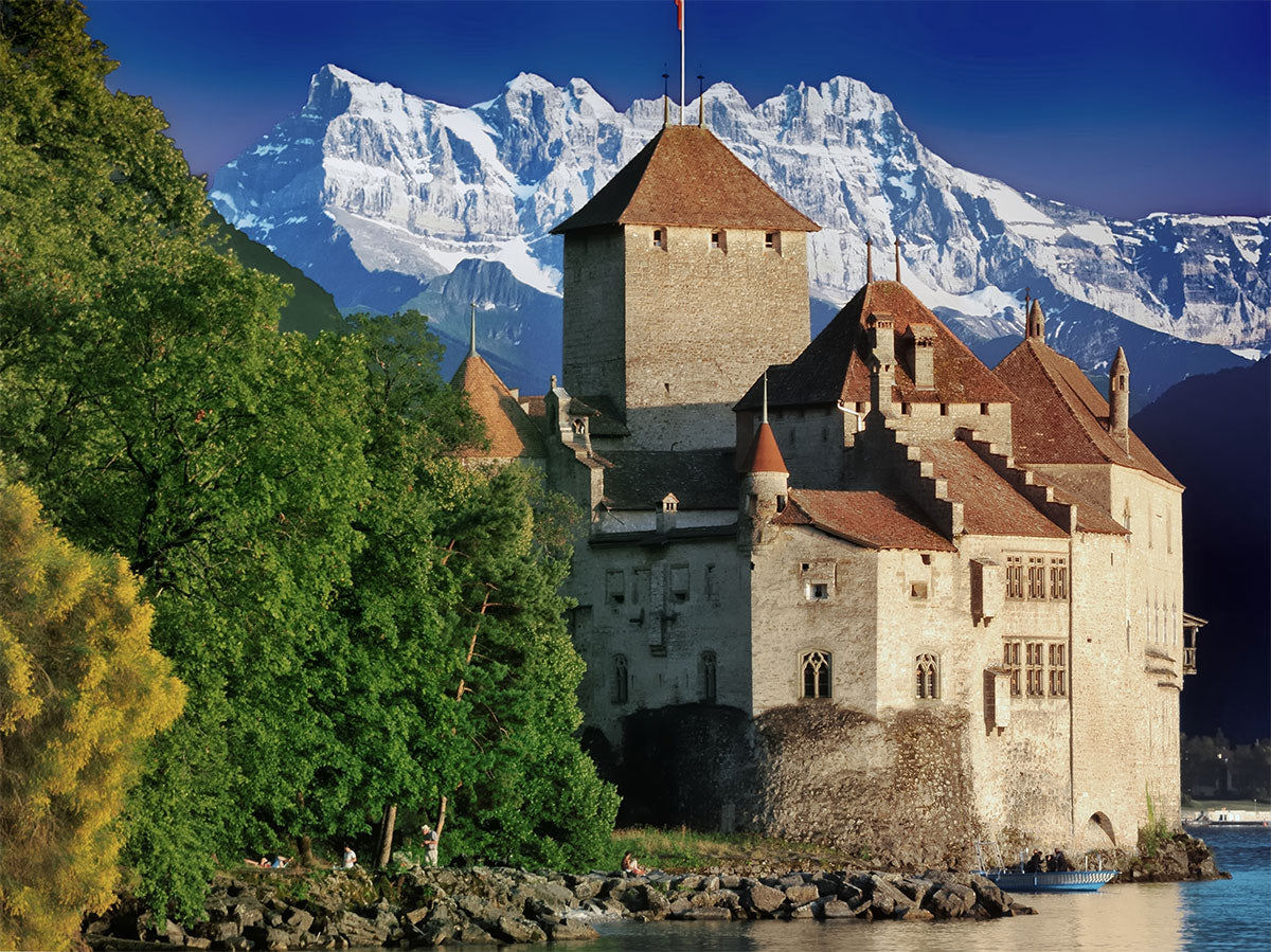Chillon Castle, Geneva.