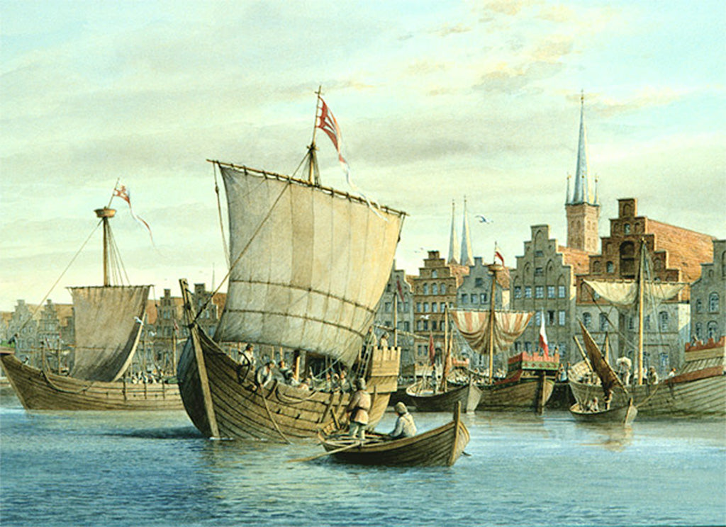 the Harbour at Lubeck