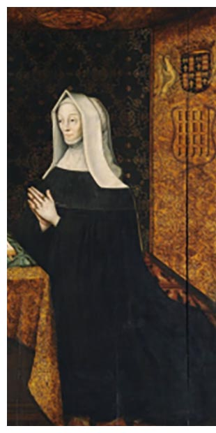 Margaret Beaufort, mother to our first Tudor King,