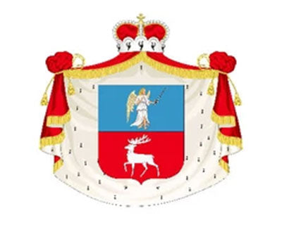 Prince P Lobanov-Rostovsky Coat of Arms