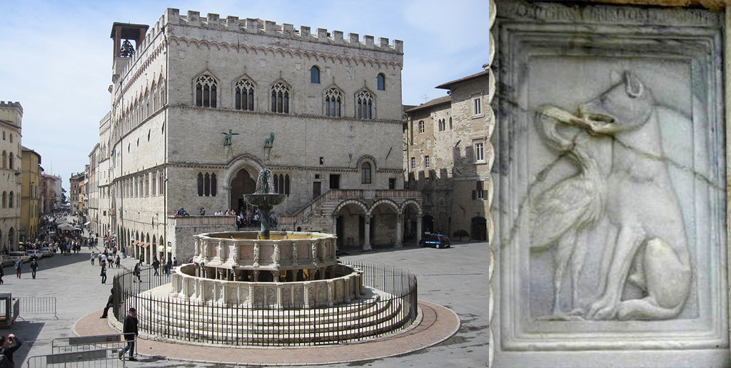 Medieval Parliment Building in Perugia