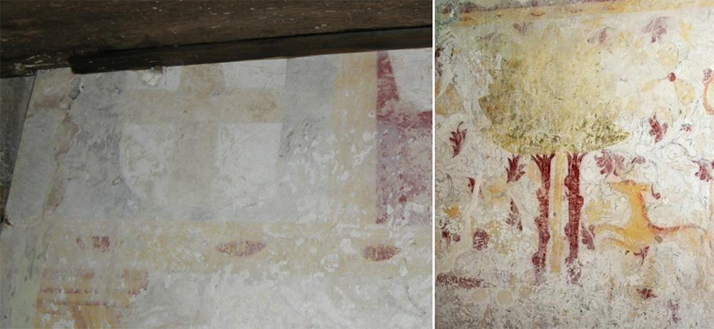Wall painting details