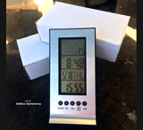 LCD Indoor Digital Thermometer / Hygrometer / Clock for sale | Buy carnivorous plants and seeds online @ South Africa's leading online plant nursery, Cultivo Carnivores