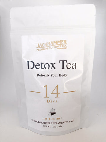 Jackhammer Detox Tea - Caffeine Free, 14 Day Supply