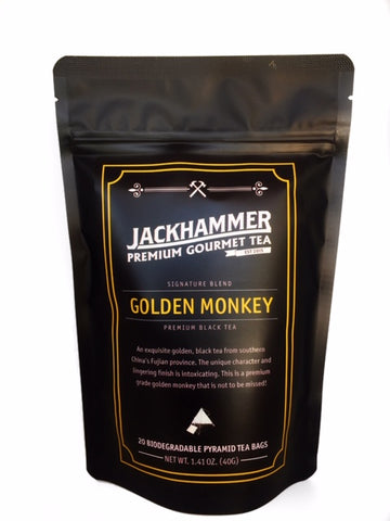 Jackhammer Golden Monkey Premium Organic Black Tea - Signature Blend