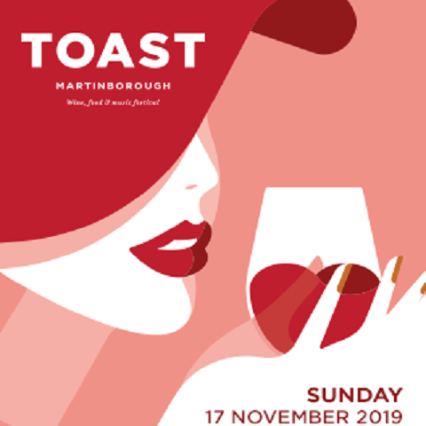 Buy your tickets now for Toast Martinborough - the wine and food festival with Ata Rangi, Palliser, Escarpment, Ruth Pretty,