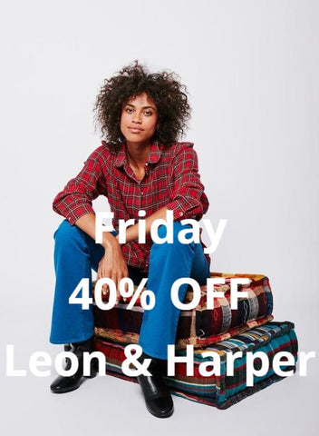 Leon & Harper 40% OFF 24hours only