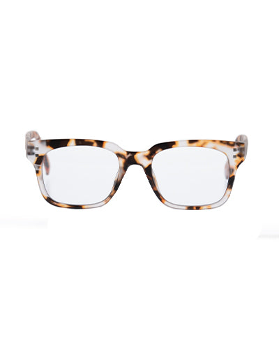 6am Light Brown Tort Reading Glasses
